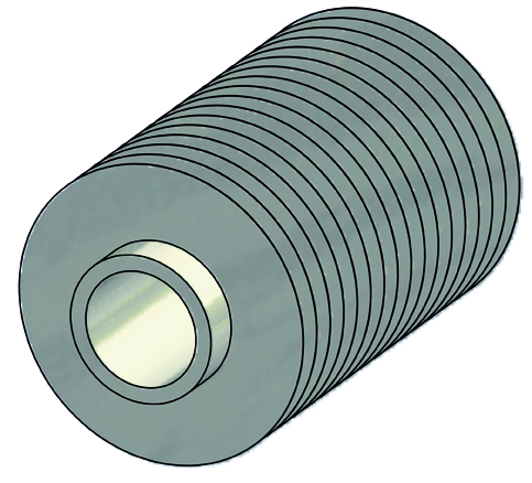 Spiralrippenrohr (LaserFin-Rippenrohr)