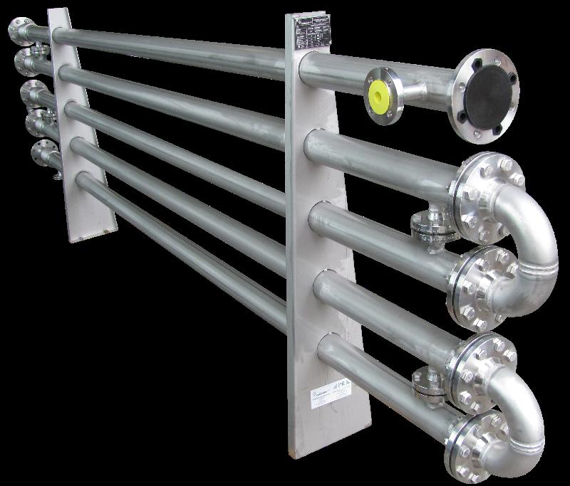 Double-tube heat exchanger