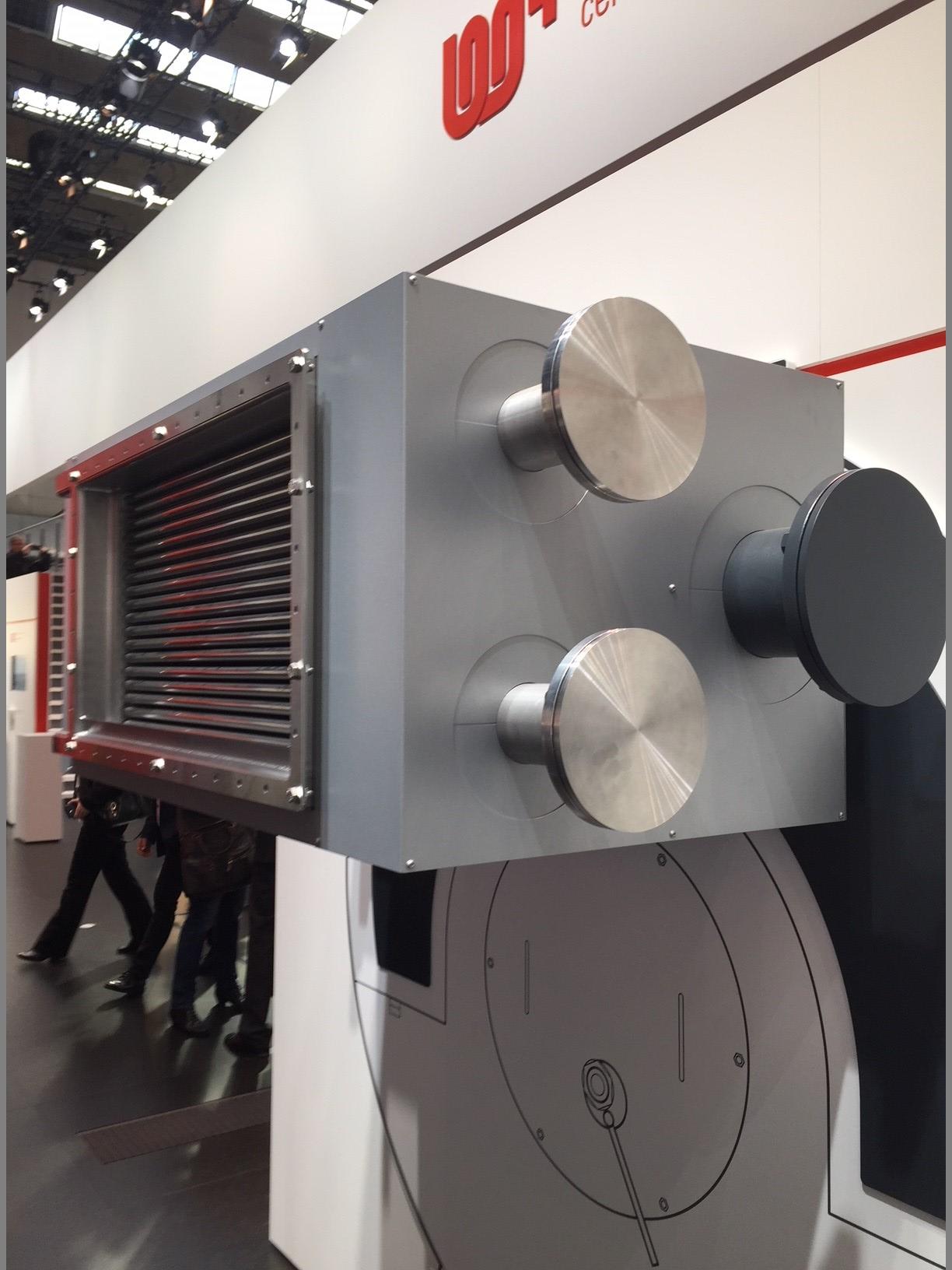 Calorific value heat exchangers