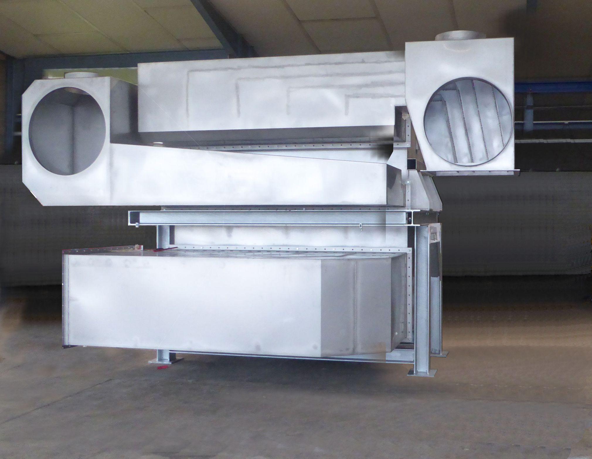 Platten-Wärmetauscher 205m²