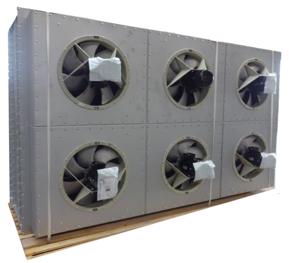 Trockenkühler mit sechs Ventilatoren